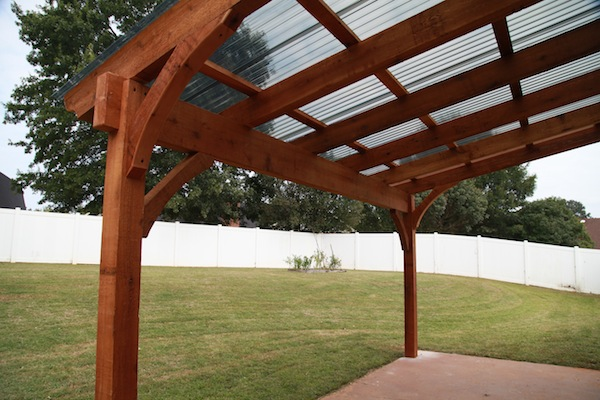 Freestanding Deck With Roof :